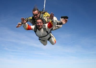 skydiving caduta libera